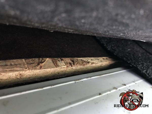 One quarter inch gap between the roof sheathing and the drip edge allowed bats to get into the attic of a house in Conyers Georgia