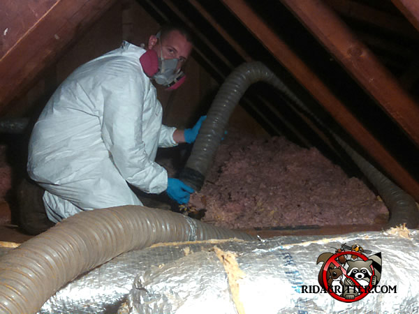 Attic Insulation Replacement Atlanta Peachtree City